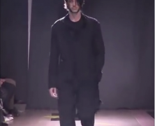 Yohji Yamamoto Winter 2016 Menswear
