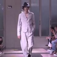 Yohji Yamamoto Spring Summer 2016  Menswear Show