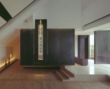 Zen Buddhist temple by Waro KISHI