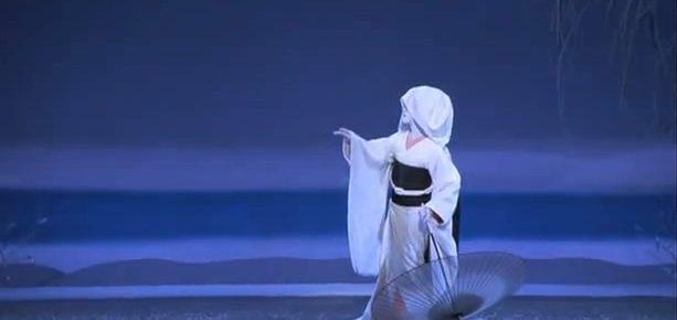 Tamasaburo on Stage