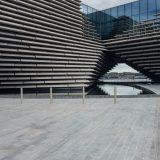 Victoria & Albert Museum Dundee designed by Kengo Kuma
